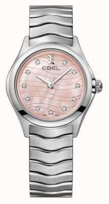 EBEL Womens golf roze wijzerplaat horloge 1216268
