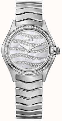 EBEL Womens golf 94 diamanten roestvrij stalen horloge 1216270