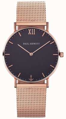 Paul Hewitt Unisex zeeman roerde gouden armband PH-SA-R-ST-B-4M