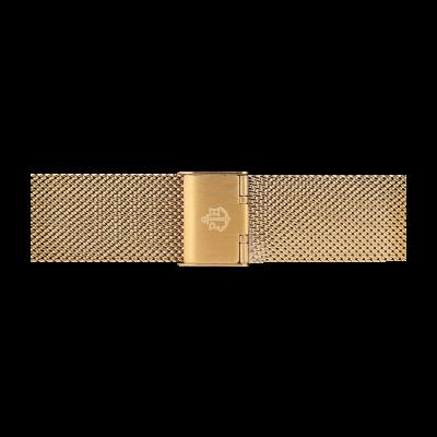 Paul Hewitt Gouden roestvrijstalen gaasband maat s PH-M1-G-4S