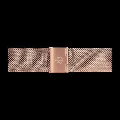 Paul Hewitt Rosé gouden roestvrijstalen mesh armband 176mm PH-M1-R-4S