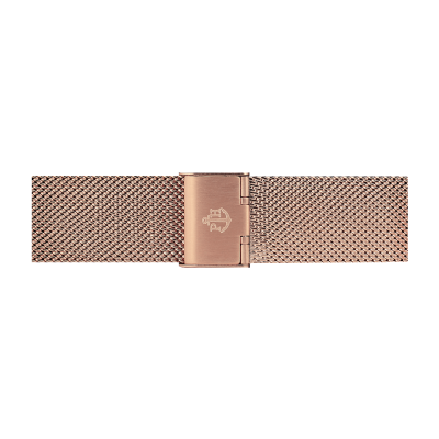 Paul Hewitt Rosé gouden roestvrijstalen mesh armband 186 mm PH-M1-R-4M