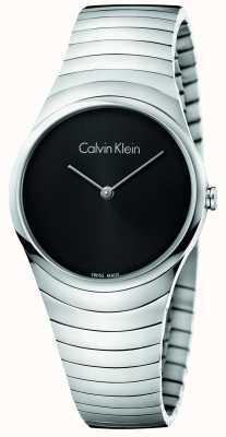 Calvin Klein Womans zilver roestvrij staal horloge K8A23141