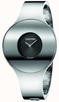 Calvin Klein Womans zilverstaal naadloos horlogemedium K8C2M111