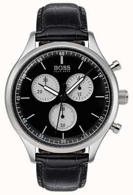 Boss Heren metgezel chronograaf horloge zwart 1513543