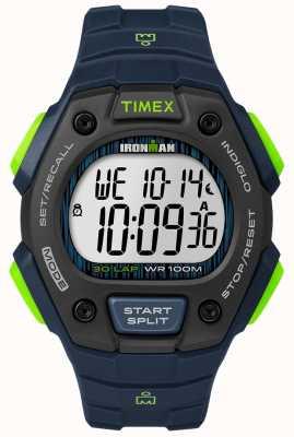 Timex Ironman classic 30 fs zwart en kalk TW5M11600D7PF
