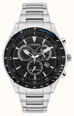 Citizen Chronograaf eco-drive roestvrij staal AT2381-59E
