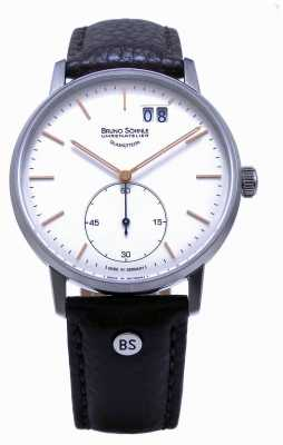 Bruno Sohnle Stuttgart ii 42mm bruin lederen horloge 17-13179-245
