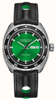 Hamilton Amerikaanse klassieke pan europ automatische groene wijzerplaat H35415761