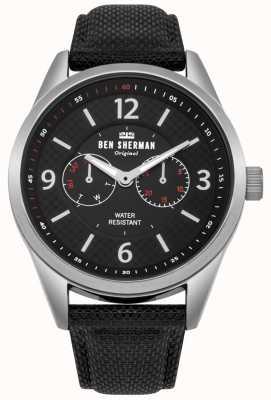 Ben Sherman Mens groot carnaby hulpprogramma horloge WB069BB