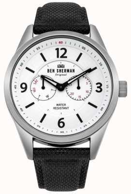 Ben Sherman Mens groot carnaby hulpprogramma horloge WB069WB