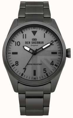 Ben Sherman Carnaby militair horloge voor heren WB074BSM