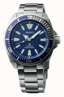 Seiko Prospex samurai automatische 200m blauwe wijzerplaat SRPB49K1