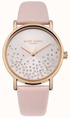 Daisy Dixon Nude strap nude sunray met glitter wijzerplaat DD053CRG