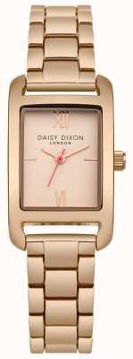 Daisy Dixon Rose gouden armband rose goud satijn DD057RGM