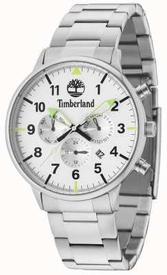 Timberland Spaulding zilveren meervoudige wijzerplaat zilveren armband 15263JS/01M