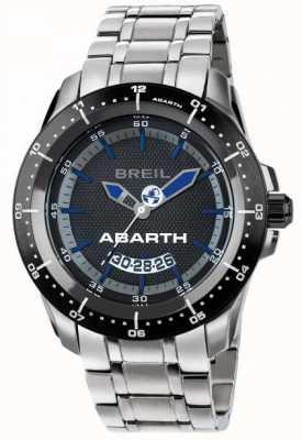 Breil Abarth roestvrijstalen ip zwarte en blauwe wijzerplaat TW1487