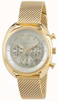 Breil Beaubourg roestvrijstalen ipr chronograaf zilveren wijzerplaat TW1676