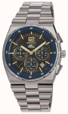 Breil Manta sport roestvrij stalen chronograaf pistool wijzerplaat armband TW1641