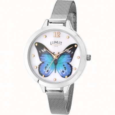 Limit Womens geheime tuin vlinder mesh horloge 6269.73