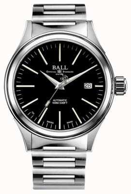 Ball Watch Company Brandweerman automatische 40 mm zwarte wijzerplaat NM2098C-S20J-BK