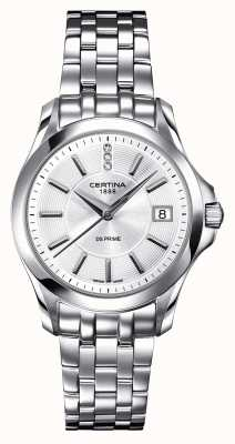 Certina Womens ds prime diamond horloge C0042101103600