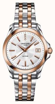 Certina Womens ds prime diamond horloge C0042102203600