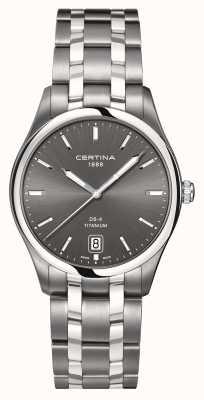 Certina Mens DS-4 titanium horloge C0224104408100