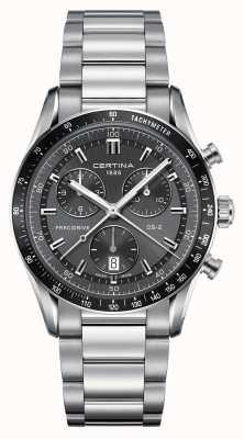Certina Mens ds-2 precidrive chronograph horloge C0244471108100
