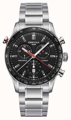 Certina Mens ds-2 precidrive flyback chronograph horloge C0246181105101