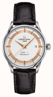 Certina Mens ds-1 powermatic 80 himalaya special edition horloge C0298071603160