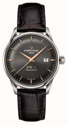 Certina Mens ds-1 powermatic 80 automatisch horloge C0298071608101