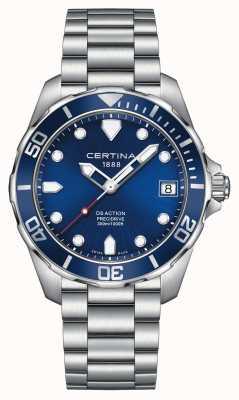 Certina Mens ds actie precidrive 300m horloge C0324101104100