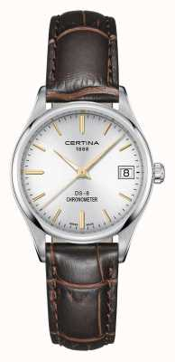 Certina Womens ds-8 quartz chronometer horloge C0332511603101