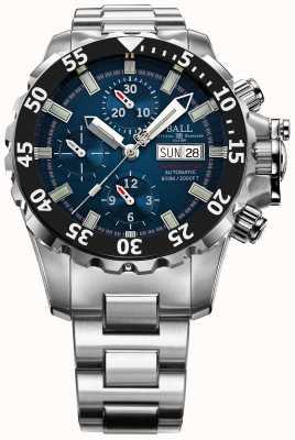 Ball Watch Company Menselijke ingenieur blauwe nedu koolwaterstof 600m automatische chrono DC3026A-SC-BE