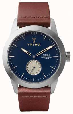 Triwa Hertogspira bruin klassiek zilver SPST104-CL010212