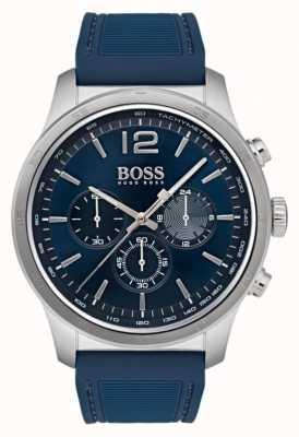 Hugo Boss Heren professioneel chronograaf horloge blauw 1513526