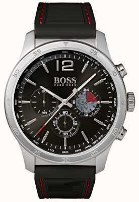 Hugo Boss Professionele chronograafhorloge voor heren zwart 1513525