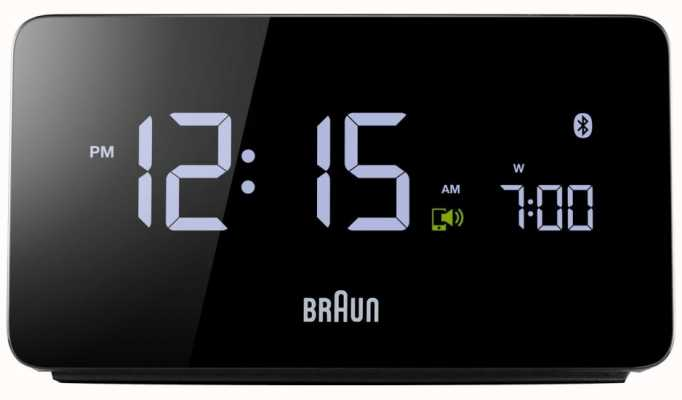 Braun Ex display digitale bluetooth wekker BNC020BK EX DISPLAY