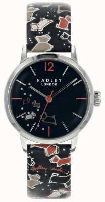 Radley Dameszilver 31mm inktpatroon met inktkleurige wijzerplaat RY2623