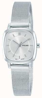 Pulsar Roestvrij stalen armband van dames, 30 m weerstand PH8375X1
