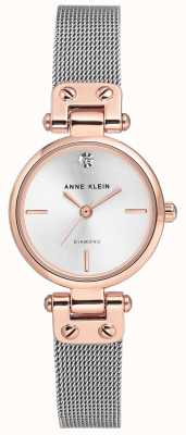 Anne Klein Damesabel armband en metalen wijzerplaat isabel AK/N3003SVRT