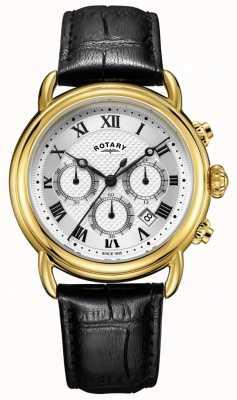 Rotary Herenhorloge van canterbury chronograaf GS05333/21
