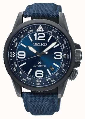 Seiko | prospex | land | automatisch | horloge met nylon band | SRPC31K1