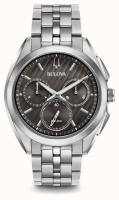 Bulova Heren curv-chronograafjurk 96A186