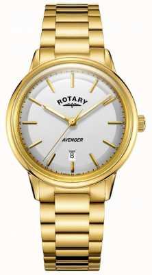 Rotary Heren avenger horloge goudkleurig barcelet GB05343/02
