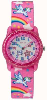 Timex Analoge eenhoornhorloge voor jongeren TW7C255004E