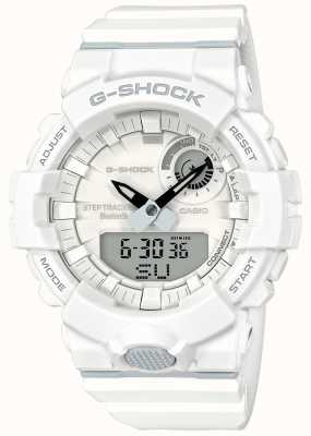 Casio G-shock bluetooth fitness step tracker witte riem GBA-800-7AER