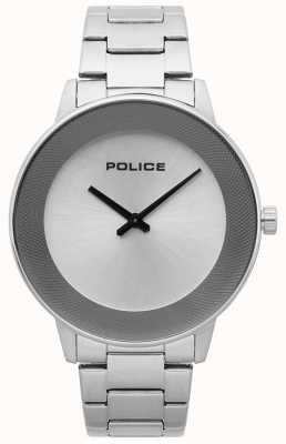 Police Herenhorloge, minimalistisch horloge in roestvrij staal 15386JS/04M