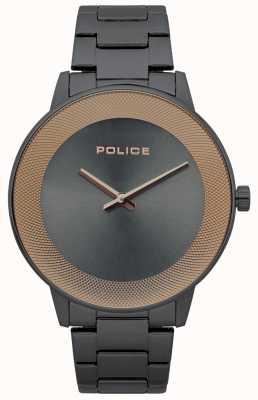 Police Herenhorloge roestvrij staal minimalistisch 15386JSU/61M